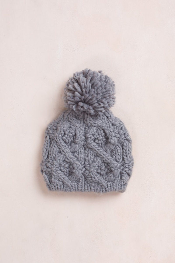 Penelope Knit Beanie Hats Fame Gray