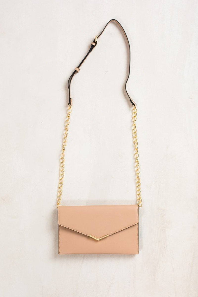 Harlow Natural Envelope Clutch Handbags JOIA