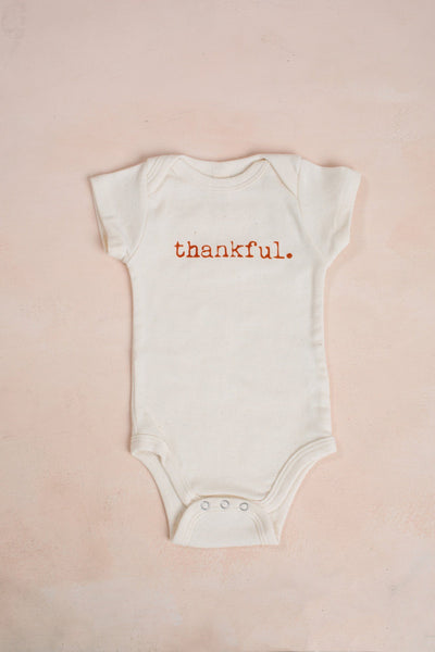 Thankful Baby Bodysuit Kids Tenth & Pine 0-3m