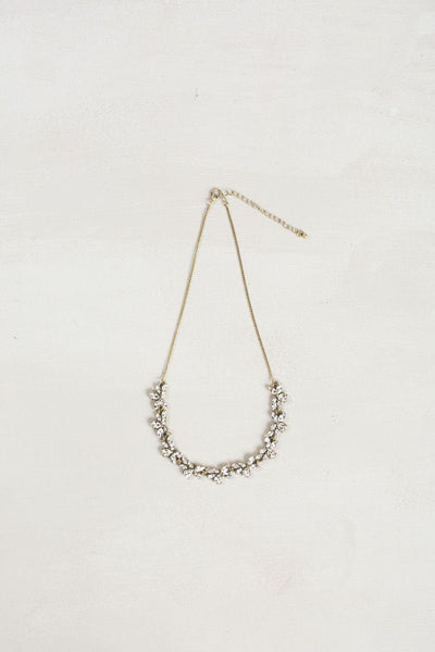 Susie Dainty Crystal Necklace Necklaces Ana Crystal