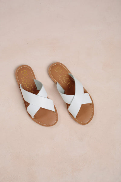 Lil' Pebble Sandals Shoes Matisse White 11
