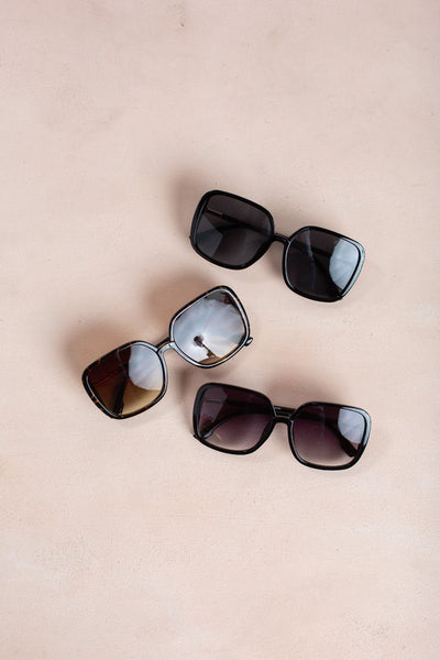 Mia Square Oversized Sunglasses Sunglasses Ana