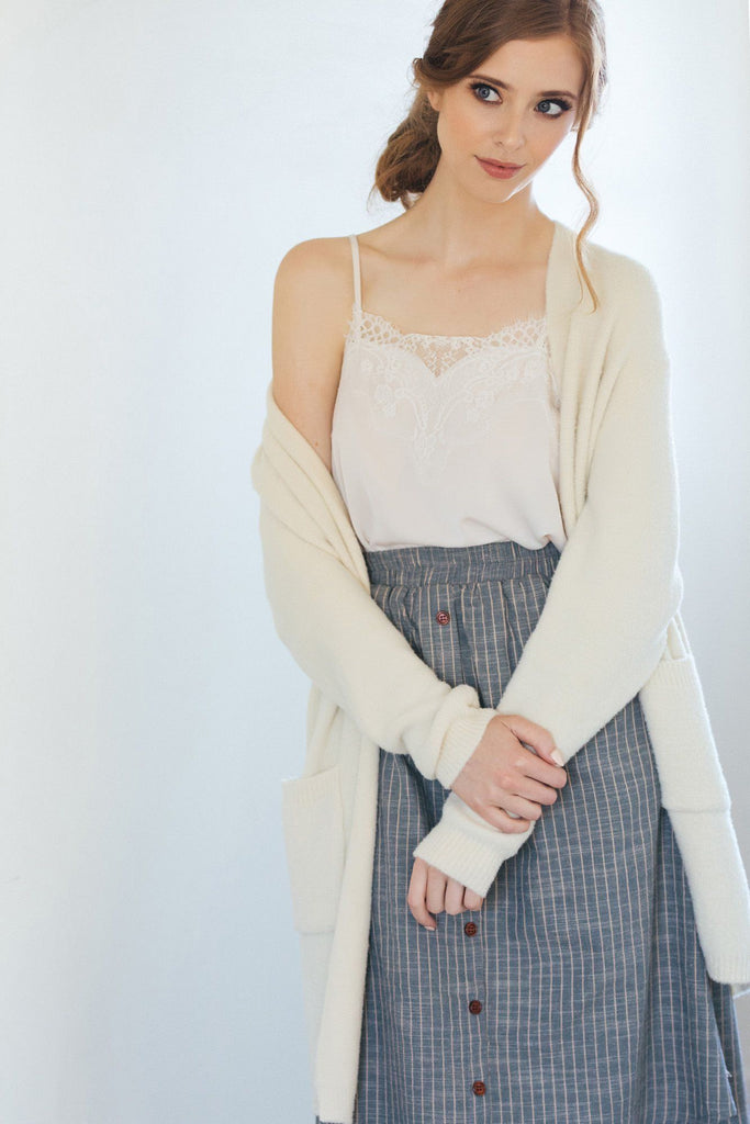 Quincy Soft Pocket Cardigan Sweaters Dreamers