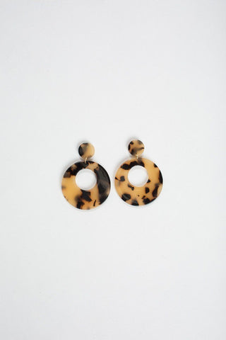Mayra Tortoise Earrings