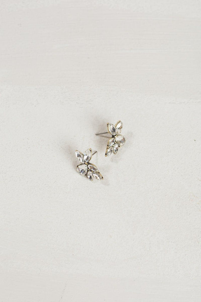 Hadley Crystal Earrings Earrings Ana Crystal