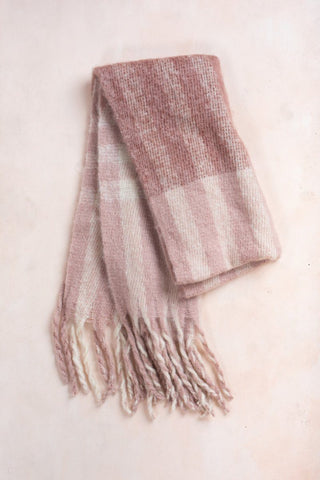 Deliah Pink Scarf Scarves JOIA