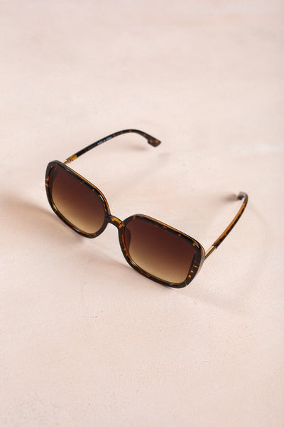 Mia Square Oversized Sunglasses Sunglasses Ana Tortoise
