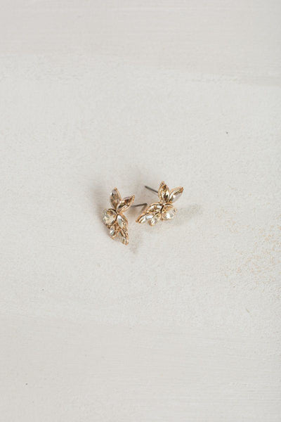 Hadley Crystal Earrings Earrings Ana Gold