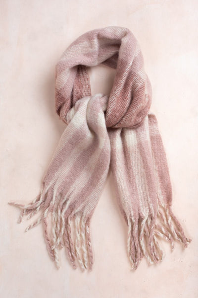 Deliah Pink Scarf Scarves JOIA Pink