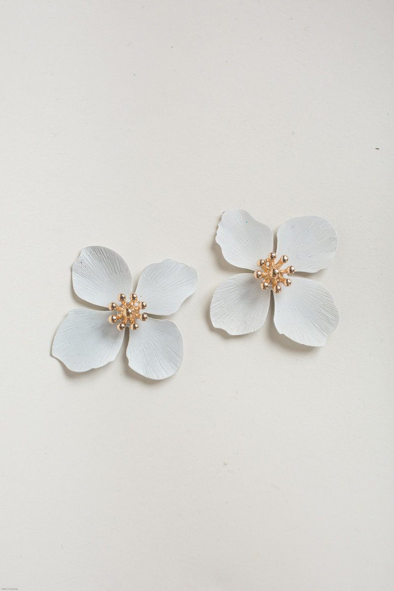 company clover maria dunitz flower boutique luisa earrings