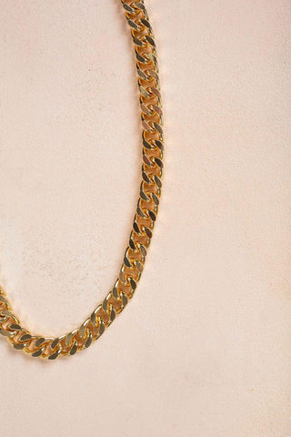 Roxy Curb Chain Necklace Necklaces JOIA