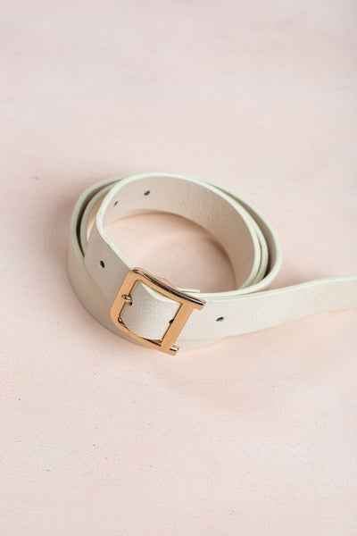 Jacintha Belt Belts Milkarose Cream