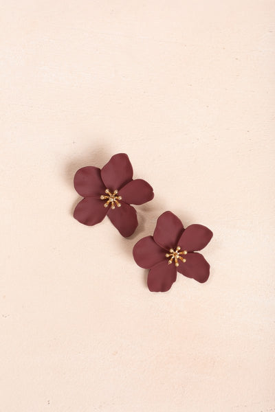 Joleen Flower Earrings
