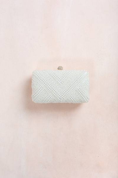 Madasen Pearl Clutch Handbags ANA Pearl