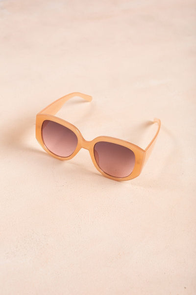 Addison Sunglasses Sunglasses Joia Pink Peach