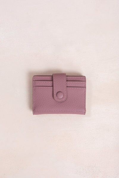 Kaylynn Card Wallet Handbags Urban Mauve