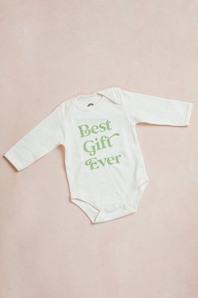 Best Gift Ever Onesie Kids Emerson and Friends 3-6M