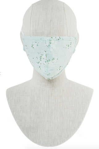 Cotton Pastel Floral Non-Medical Grade Mask Accessories Morning Lavender