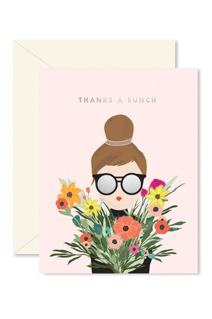Thanks A Bunch Girl Card Cards Ginger P Designs