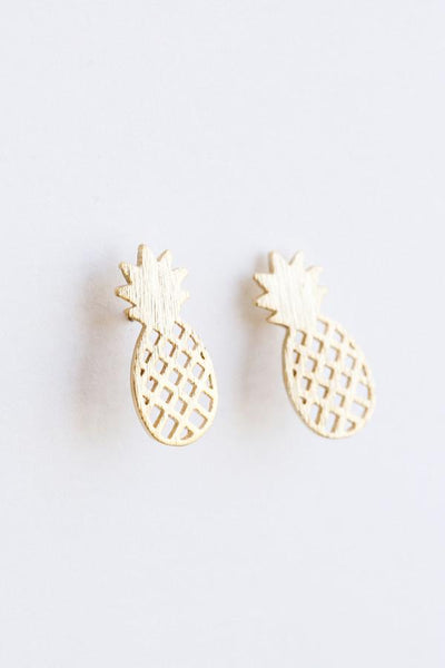 Macy Dainty Pineapple Earrings Earrings Other