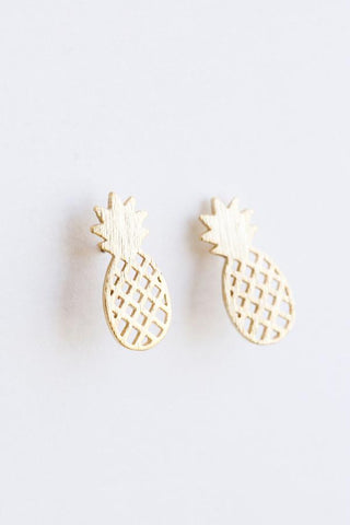 Macy Dainty Pineapple Earrings