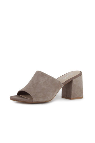 Seychelles Commute Taupe Suede Mule