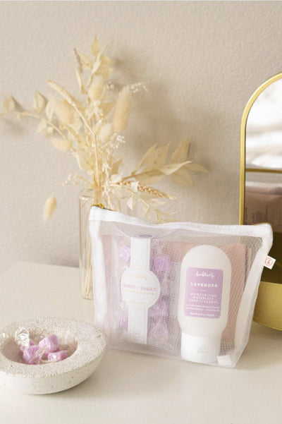 Self Care Anywhere Kit Home Accessories Bonblissity Lavender