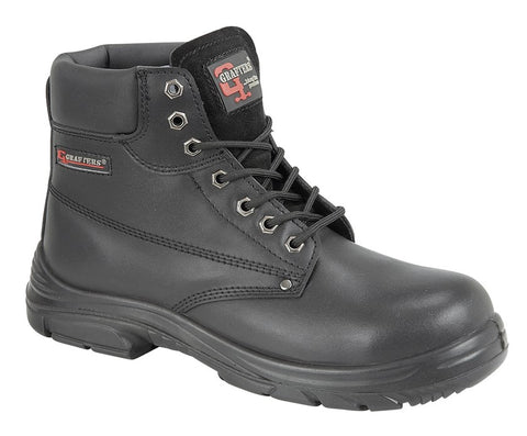 Grafters M9503A Extra Wide Safety Boot