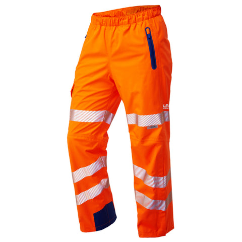 Lundy ISO 20471 Class 2 High Performance Waterproof Overtrouser