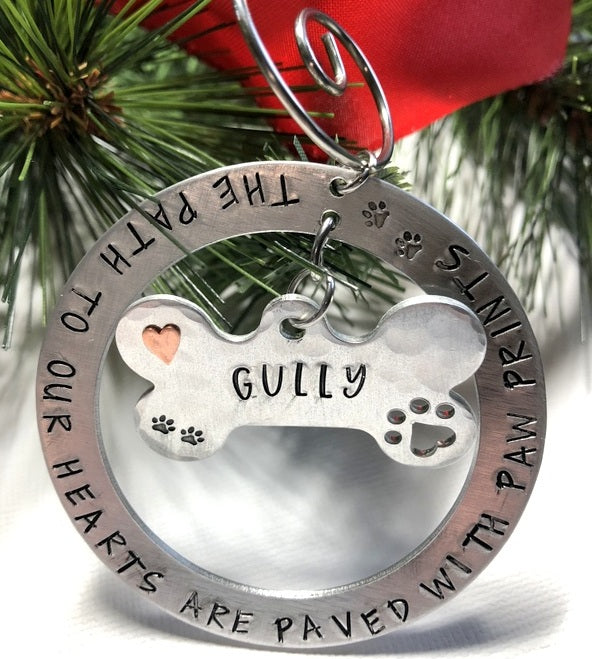 Personalized Pet Ornament - Bling Chicks Jewelry Accessories Gifts