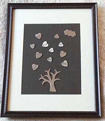 Personalized Framed Family Tree - Bling Chicks Jewelry Accessories Gifts