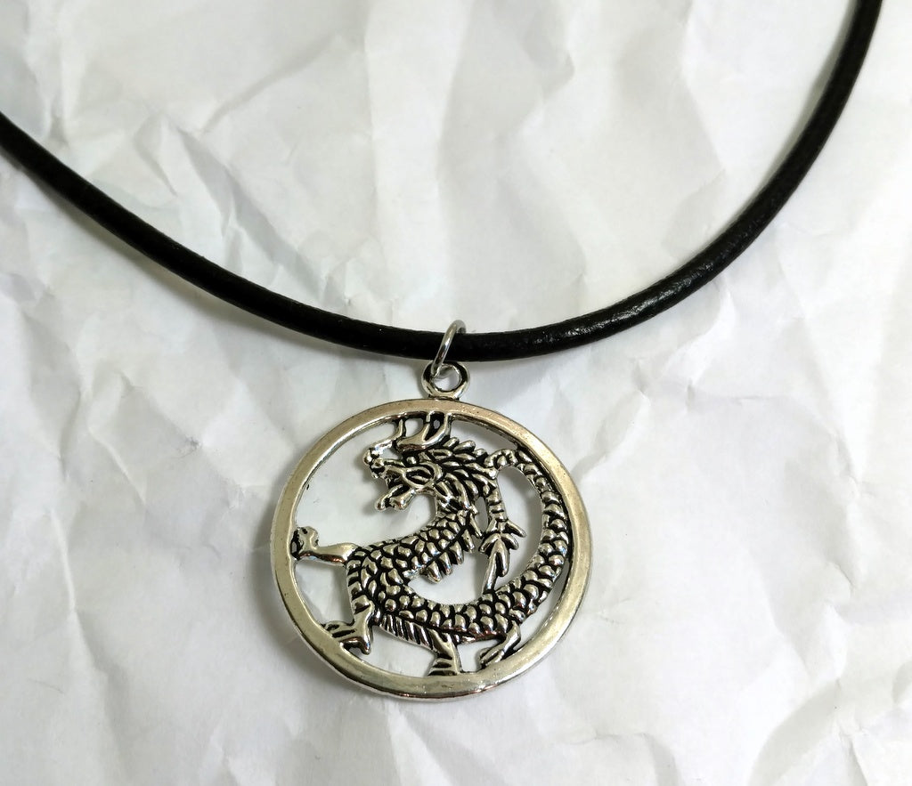 Dragon Necklace - By Bling Chicks - D109 - Bling Chicks Jewelry Accessories Gifts
