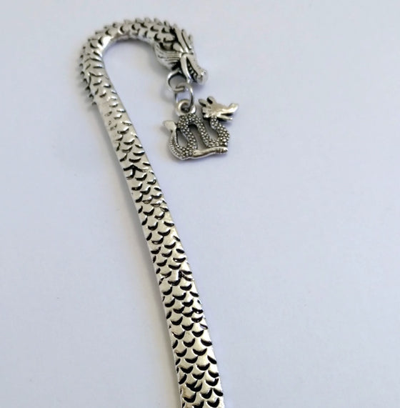 Dragon Bookmark - By Bling Chicks - D007 - Bling Chicks Jewelry Accessories Gifts