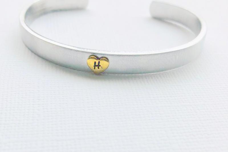 Follow Your Heart Cuff Bracelet
