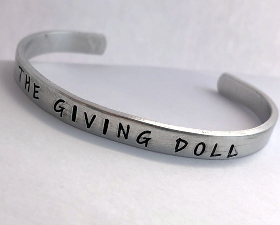 The Giving Doll STACK-ABLE Cuff Bracelet BY BLING CHICKS - Bling Chicks Jewelry Accessories Gifts