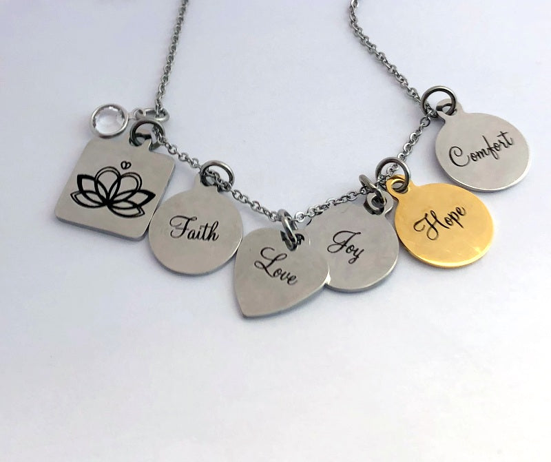 The Giving Doll Charm Necklace By Bling Chicks