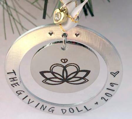 The Giving Doll 2019 Ornament #1 - By Bling Chicks - Bling Chicks Jewelry Accessories Gifts