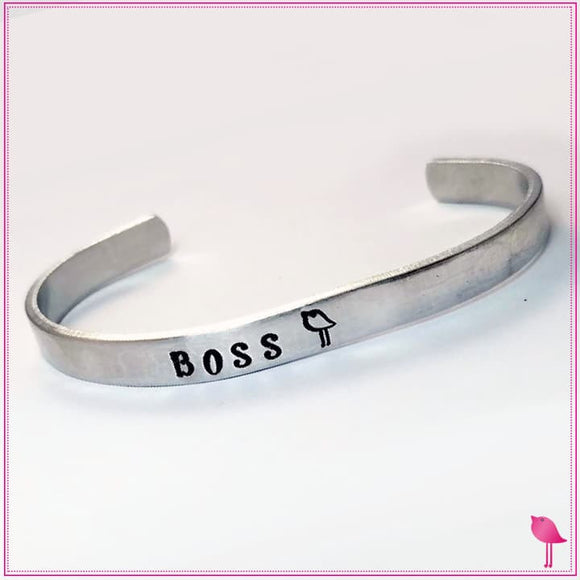 Boss Chick Empowered Women Cuff Bracelet