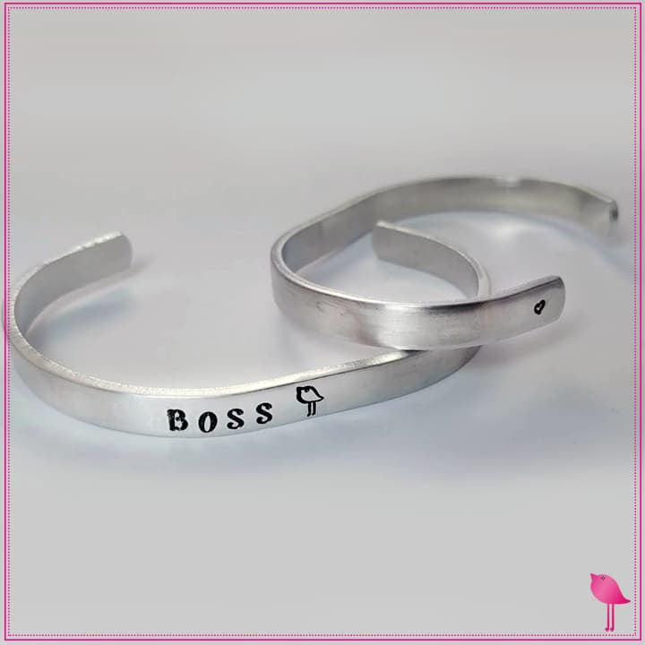Boss Chick Bling Chicks Cuff Bracelet - Bling Chicks Jewelry Accessories Gifts