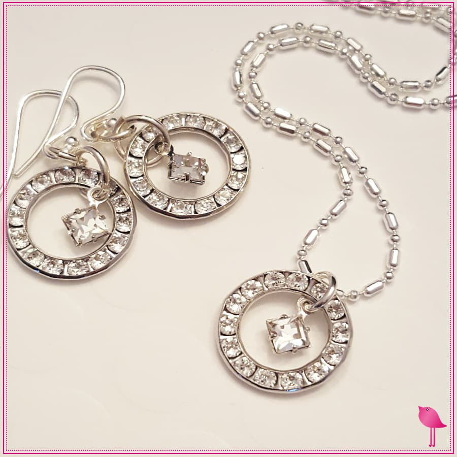 Bling Chicks Crystal Birthstone Jewelry Set - Bling Chicks