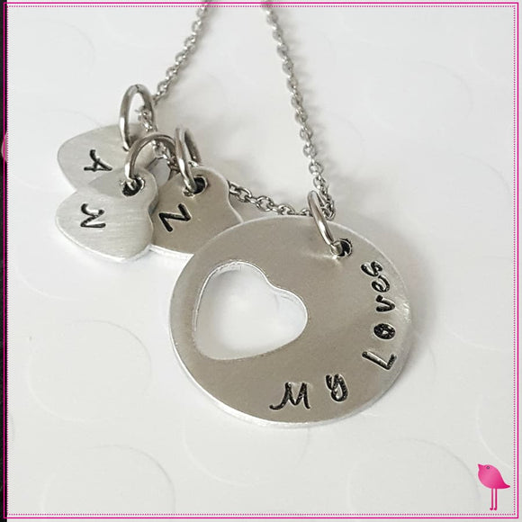 My Loves Personalized Bling Chicks Necklace - Bling Chicks