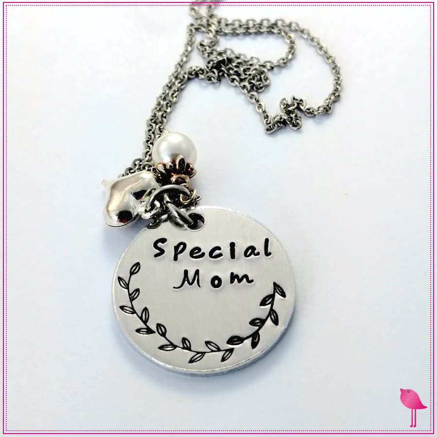 Special Mom Bling Chick Charm Necklace - Bling Chicks