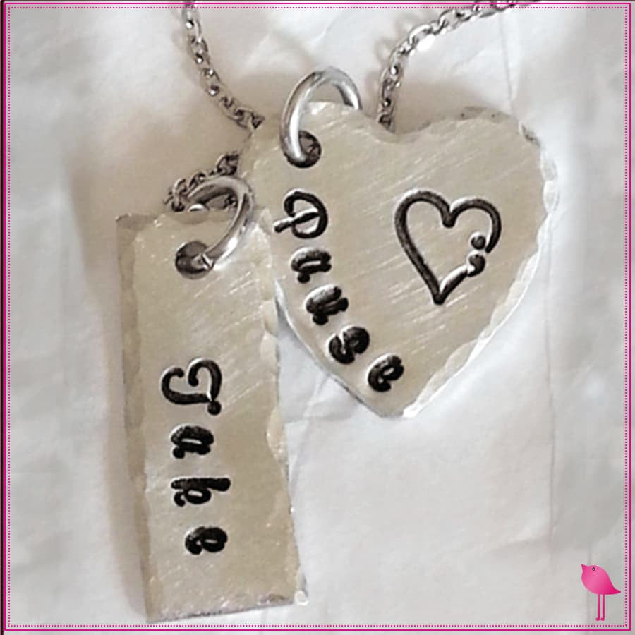 Take Pause Semicolon Bling Chicks Necklace - Bling Chicks