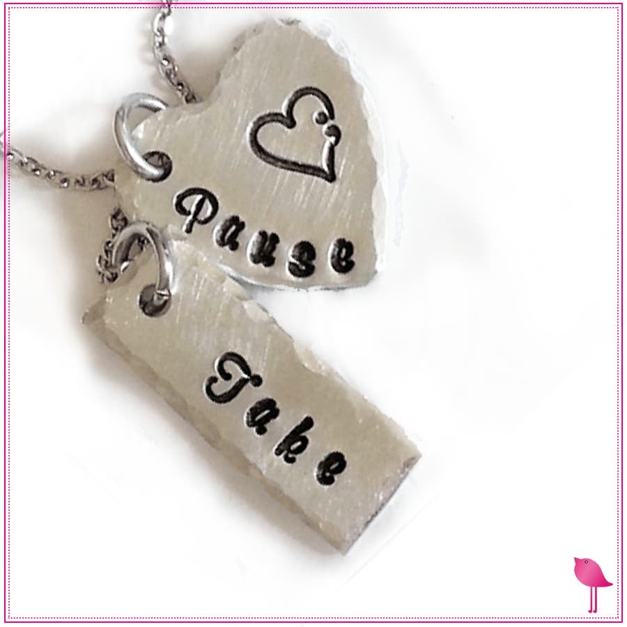 Take Pause Semicolon Bling Chicks Necklace - Bling Chicks Jewelry Accessories Gifts