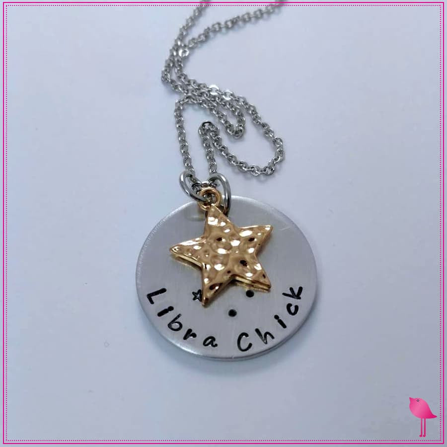 Zodiac Chick Bling Chicks Constellation Necklace - Bling Chicks Jewelry Accessories Gifts