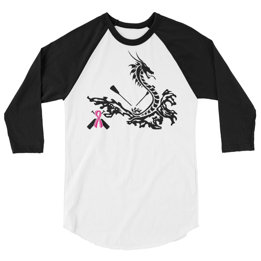 Dragon Boat Racing 3/4 sleeve raglan shirt - Bling Chicks Jewelry Accessories Gifts