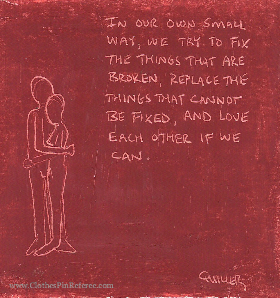 In Our Own Small Way