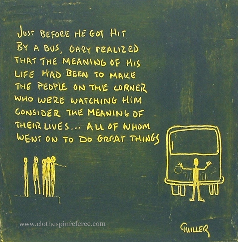 Gary and the Bus