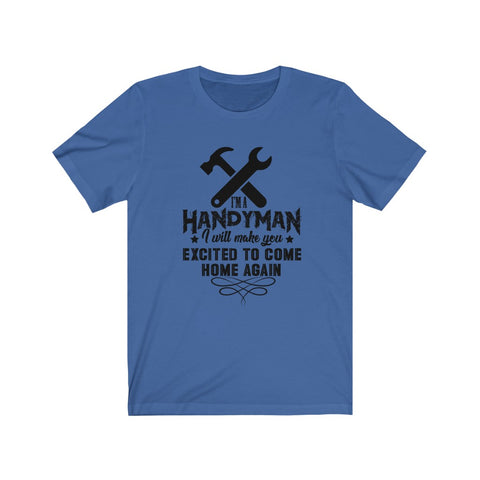 Unisex Jersey Short Sleeve Tee Handy Man 2020 Vol 1