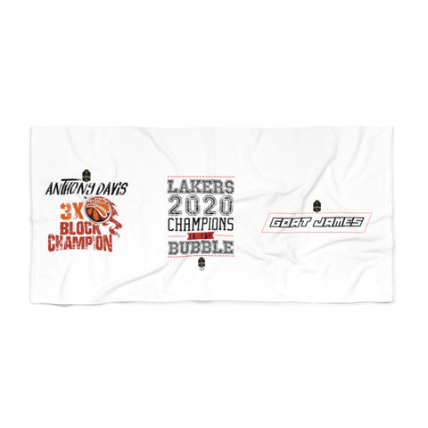 Beach Towel Lakers 2020 VOL 1